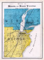 Menasha and Neenah Townships, Winnebago County 1909
