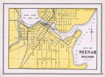 Neenah, Winnebago County 1909
