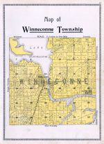 Winnecone Township, Butte Des Morts, Winnebago County 1909