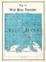 Wolf River Township, Winnebago County 1909