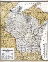 Wisconsin Railroad Map Wisconsin Historical Atlas - Map of us railroads in 1900