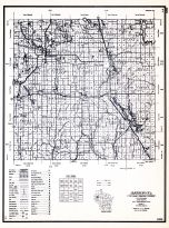 Barron County, Wisconsin State Atlas 1956 Highway Maps