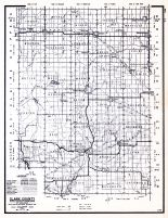 Clark County, Wisconsin State Atlas 1956 Highway Maps