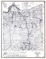 Douglas County, Wisconsin State Atlas 1956 Highway Maps