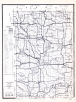 Dunn County, Wisconsin State Atlas 1956 Highway Maps