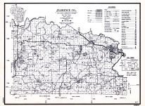 Florence County, Wisconsin State Atlas 1956 Highway Maps