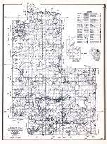 Forest County, Wisconsin State Atlas 1956 Highway Maps