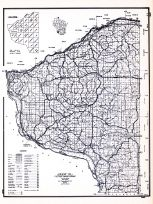 Grant County, Wisconsin State Atlas 1956 Highway Maps