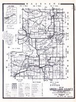 Green Lake County, Wisconsin State Atlas 1956 Highway Maps