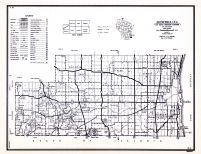 Kenosha County, Wisconsin State Atlas 1956 Highway Maps