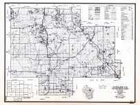 Langlade County, Wisconsin State Atlas 1956 Highway Maps
