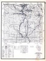 Lincoln County, Wisconsin State Atlas 1956 Highway Maps