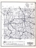 Monroe County, Wisconsin State Atlas 1956 Highway Maps