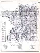 Polk County, Wisconsin State Atlas 1956 Highway Maps