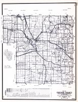 Portage County, Wisconsin State Atlas 1956 Highway Maps