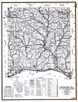 Richland County, Wisconsin State Atlas 1956 Highway Maps