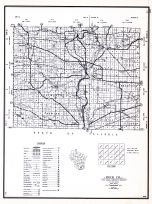 Rock County, Wisconsin State Atlas 1956 Highway Maps