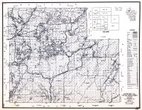 Sawyer County, Wisconsin State Atlas 1956 Highway Maps