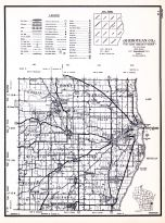 Sheboygan County, Wisconsin State Atlas 1956 Highway Maps