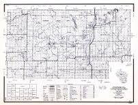 Taylor County, Wisconsin State Atlas 1956 Highway Maps
