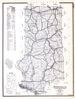 Trempealeau County, Wisconsin State Atlas 1956 Highway Maps