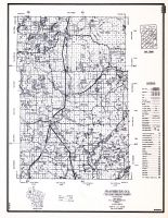 Washburn County, Wisconsin State Atlas 1956 Highway Maps