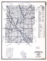 Washington County, Wisconsin State Atlas 1956 Highway Maps