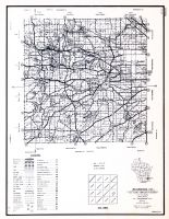Waukesha County, Wisconsin State Atlas 1956 Highway Maps