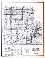 Wood County, Wisconsin State Atlas 1956 Highway Maps