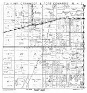 Cranmoor and Port Edwards Townships, Wood County 1957