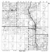 Dexter Township, Veedum, Wood County 1957