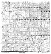 Lincoln Township, Bakerville, Yellow River, Wood County 1957