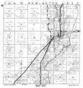 Remington Township, Babcock, Yellow River, Wood County 1957