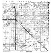 Saratoga Township, Nepco Lake, Wood County 1957