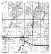 Seneca and Cranmoor Township, Elm Lake, Walker, Wood County 1957