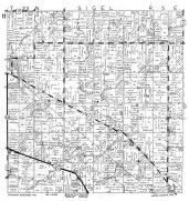 Sigel Township, Vesper, Wood County 1957