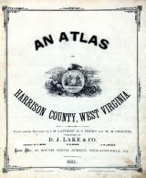 Title Page, Harrison County 1886