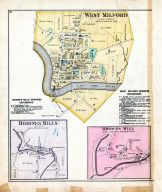 West Milford, Romines Mills, Browns Mill, Harrison County 1886