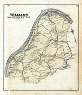 Williams, Wood County 1886