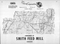 Index Map, Craighead County 1963