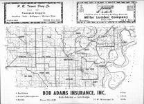 Index Map, Lee County 1969