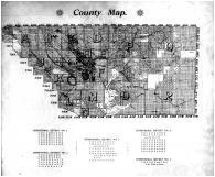 Kern County Map, Kern County 1901