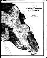 Sonoma County Map - Right