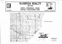 Index Map, Alamosa County 1976