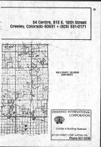 Index Map - Northeast right, Weld County 1981