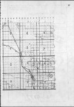 Index Map - Section D right, Weld County 1984 and 1985