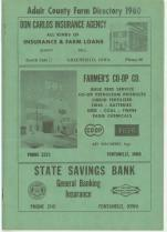 Title Page, Adair County 1960