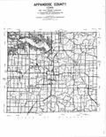 Index Map, Appanoose County 1996 - 1997