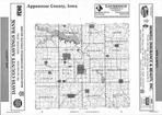 Index Map, Appanoose County 2001
