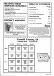 Index Map 1, Carroll County 2002 Published by Farm and Home Publishers, LTD